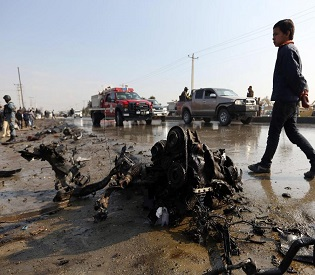 hromedia Taliban launch horrific suicide attack on British diplomatic convoy in Afghanistan intl. news2