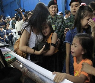 hromedia After deaths of 44 Filipino commandos in deadly clash a setback to peace with rebels intl. news3