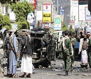 Clashes between Houthi rebels and Sunnis in Yemen leave 26 dead arab uprising2