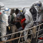 At least 300 migrants feared dead after boats sink in Mediterranean sea