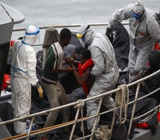 hromedia At least 300 migrants feared dead after boats sink in Mediterranean sea eu news2