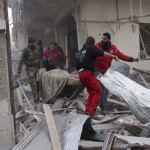 More than 50 dead as Assad forces, rebels trade fire around Syria capital