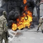 Pro-Russian insurgents pound Ukrainian troops after peace talks collapse