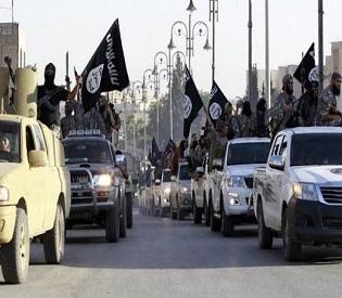 hromedia Syrians flee jihadists as fears grow for 150 Christians held by ISIS arab uprising2