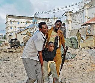 At least 10 dead in Somalia hotel attack