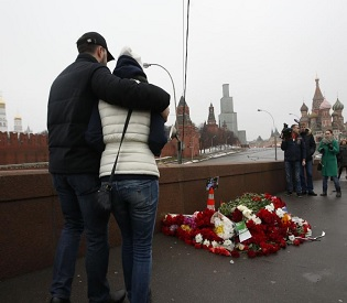 hromedia Two suspects held over murder of Kremlin critic Boris Nemtsov eu news3
