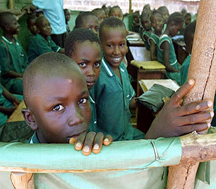 Ebola-hit Sierra Leone goes back to school