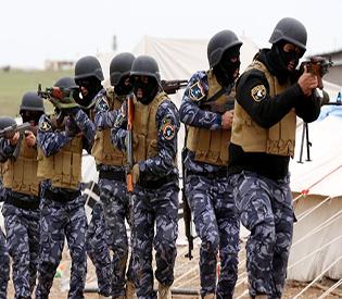 US Christians  emerging private war on Iraq jihadists