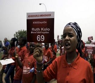 hromedia Boko Haram atrocities Nigeria remembers 200 kidnapped Chibok schoolgirls intl. news3