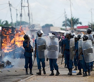 Burundi clashes as African Union warns against elections