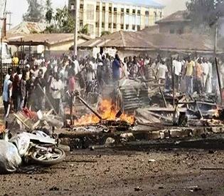 Girl suicide bomber kills seven in northeast Nigeria