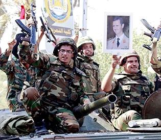 Hezbollah, Syrian army make big gains in border battle