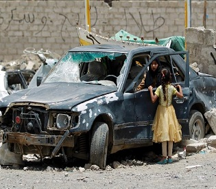 hromedia Fresh Saudi-led air strikes hit Yemen after truce expires arab uprising2