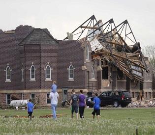hromedia Tornadoes kill at least five in Arkansas and Texas, several still missing intl. news2