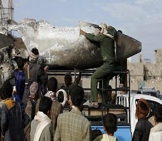 hromedia Yemen Houthi rebels claim they've downed Saudi fighter jet as fighting intensifies arab uprising2