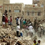 Saudi-led warplanes in Yemen bomb Sanaa's historic old city
