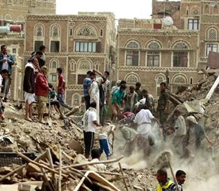 Saudi-led warplanes in Yemen bomb Sanaa's historic old city