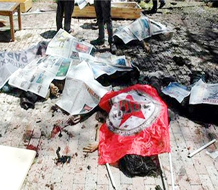 27 dead in Turkey blast near Syria border- ministry