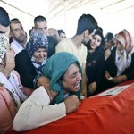Anguish and anger as families bid farewell to Turkey bombing victims