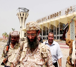 Saudi Arabia delivers arms to Aden airport, first landing at airport in months