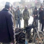 Suicide bomber on motorcycle kills 15 near Afghan market