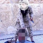 ISIS jihadis force young BOY to carry out beheading for 'first time'