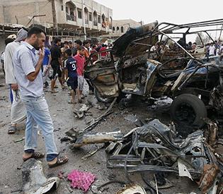 Bomb attacks in Iraq's Diyala kill at least 45- police