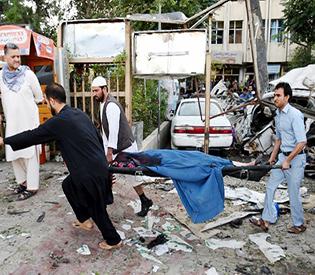 Kabul car bomb kills 12 including three Americans2