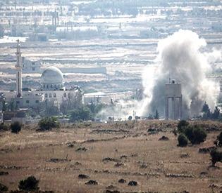 Syria- Israeli air raids kill 5 civilians, 1 soldier
