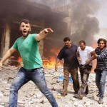 Syria regime raids 'kill 31 civilians' near Damascus