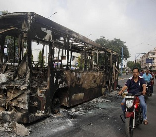 hromedia 5 killed as fresh communal clashes hit western India over caste protest intl. news3