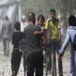 Airstrikes by Syrian government kill at least 100 in Damascus suburb