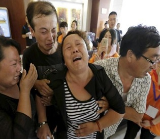 hromedia Death toll from China blasts rises to 104, residents evacuate over contamination fear intl. news3