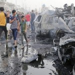 ISIS truck bomb in Baghdad kills at least 76 and injures more than 200