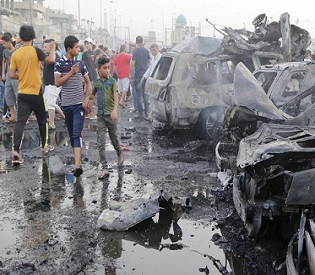 hromedia ISIS truck bomb in Baghdad kills at least 76 and injures more than 200 arab uprising2