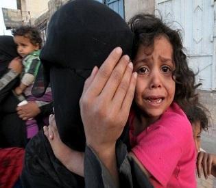 hromedia Yemen air strikes, fighting kill at least 40 arab uprising3