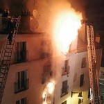 Eight dead in Paris apartment block fire