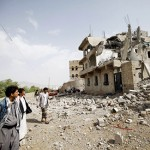 Saudi-led coalition jets kill 20 at a wake in Yemen- residents