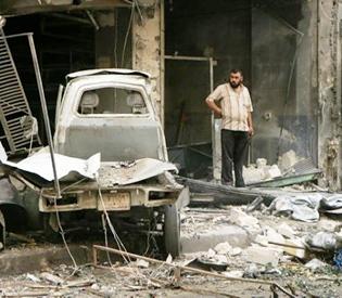 Syrian bombardment kills civilians in Aleppo