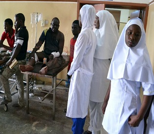 hromedia Death toll hits 117 after NE Nigeria bombings, medics intl. news1