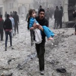 Month of Russian air strikes on Syria kill nearly 600