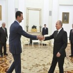 Syria's brutal dictator Bashar al Assad flies to Moscow to thank Putin for air strikes