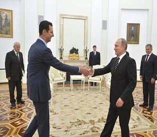 hromedia Syria's Assad flies to Moscow to thank Russia's Putin for air strikes intl. news2