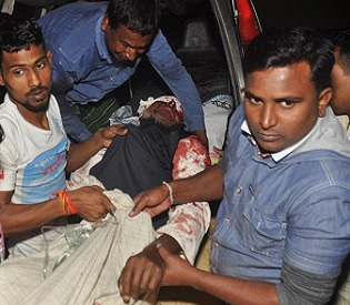 Bangladesh Shiite mosque attack 1