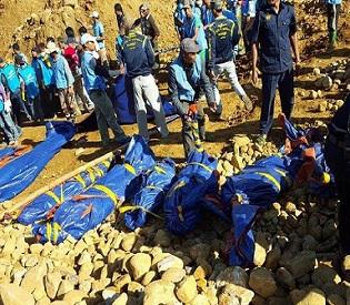 Myanmar mine landslide