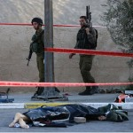 Israeli soldier, three Palestinian attackers killed ahead of Kerry visit
