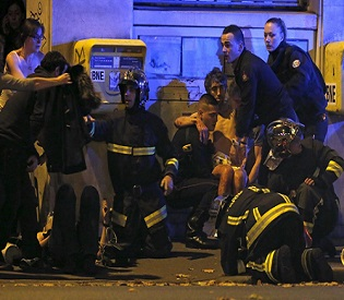 shootings in Paris