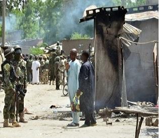 Suicide blasts kill three in NE Nigeria