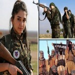 ISIS are afraid of being killed by women, Christian female fighters taking on jihadis