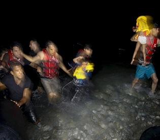 hromedia Over 1 million refugees, migrants enter Europe in 2015 eu crisis2
